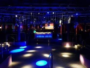 Partylocation mit Tanzfläche
