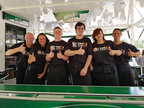 Team von Timo's Kellnerservice