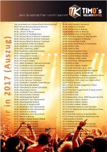 Veranstaltungen in 2017
