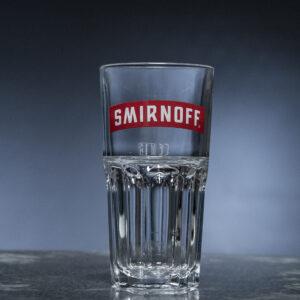 Smirnoff Markenglas